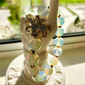 ✨💠🦄Unicorn and Opalite Bracelet 🧚🏼♂️💠✨